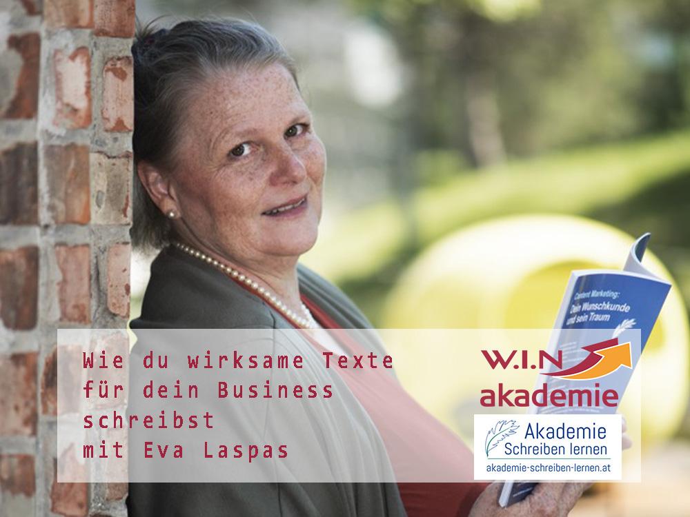 W.I.N Akademie Schreibwerkstatt Exa Laspas