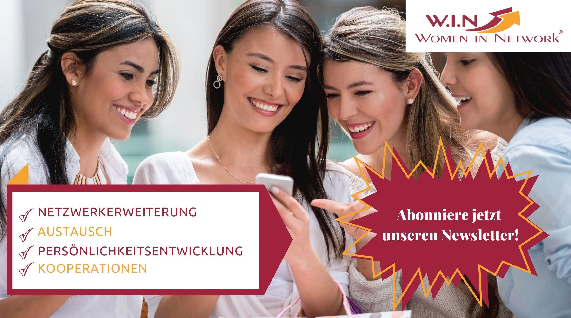 Newsletter W.I.N Women in Network