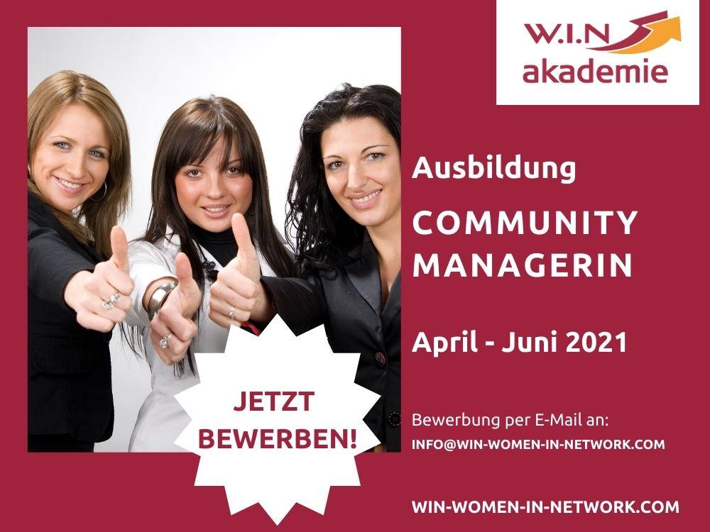 Community Managerin Ausbildung WIN-Akademie