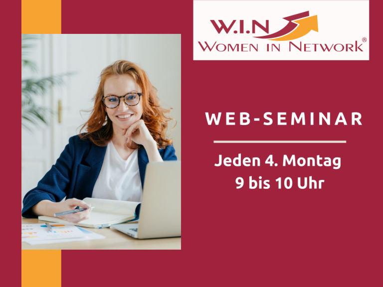 W.I.N Web-Seminare (Bannerankündigung)