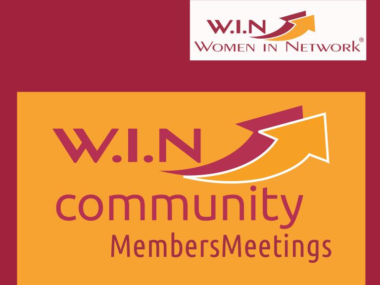 W.I.N Community-MemberMeeting (Hinweisbanner)