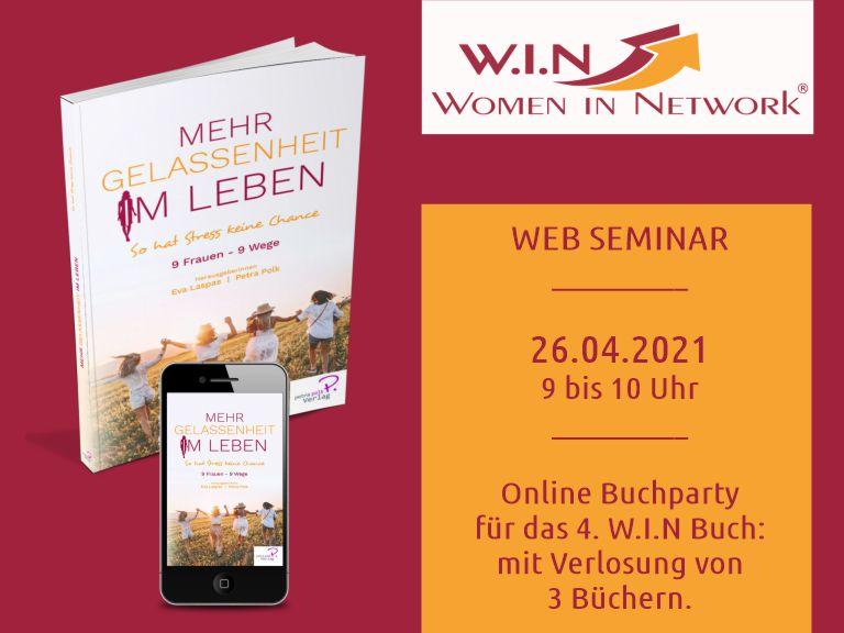 W.I.N Seminar 26.04.21 - Buchparty