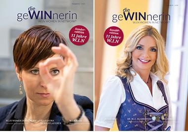GeWINnnerin Ausgabe 8 Doppelcover