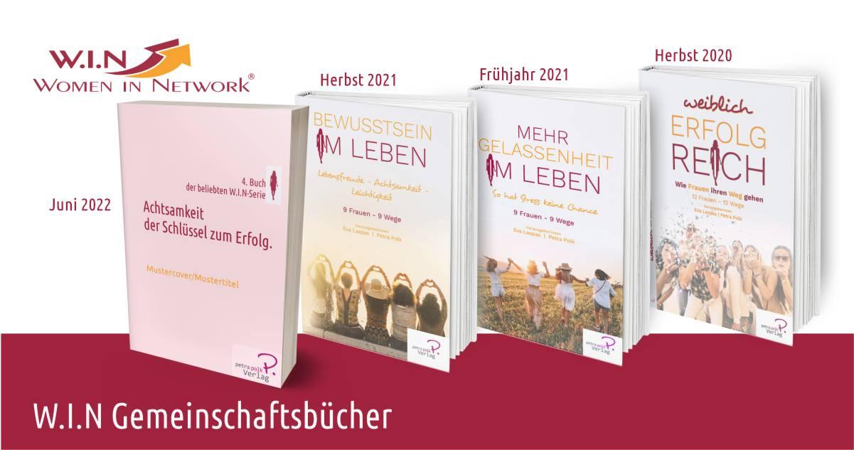 Abbildung alle-w.i.n-buecher_serie-frau_buch